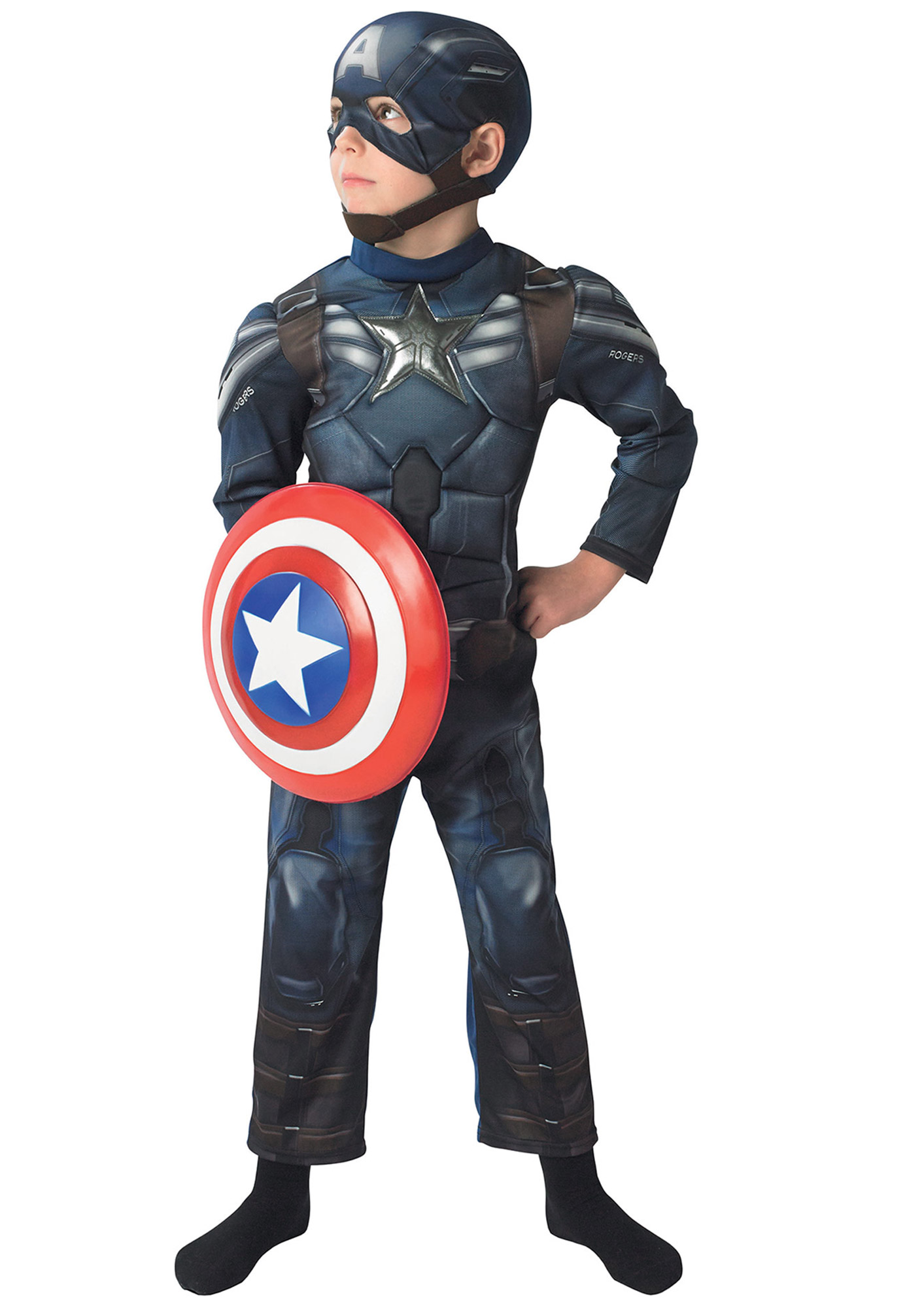 D guisement captain america the winter soldier rembourr - Bouclier capitaine america ...