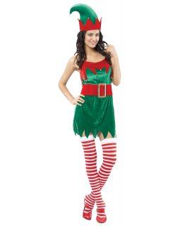 f488d991a1869 Déguisement Elfe femme Noël