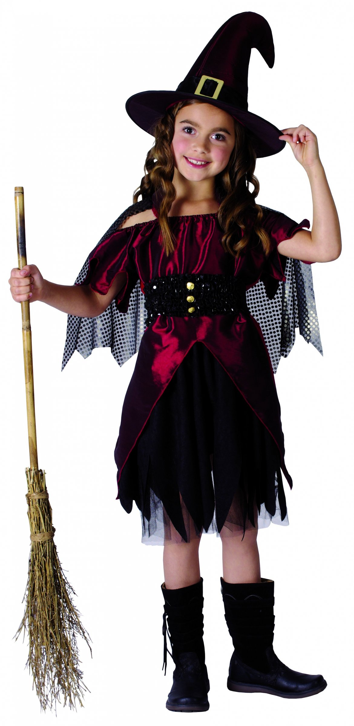 D guisement sorci re fille halloween - Deguisement halloween enfant fille ...