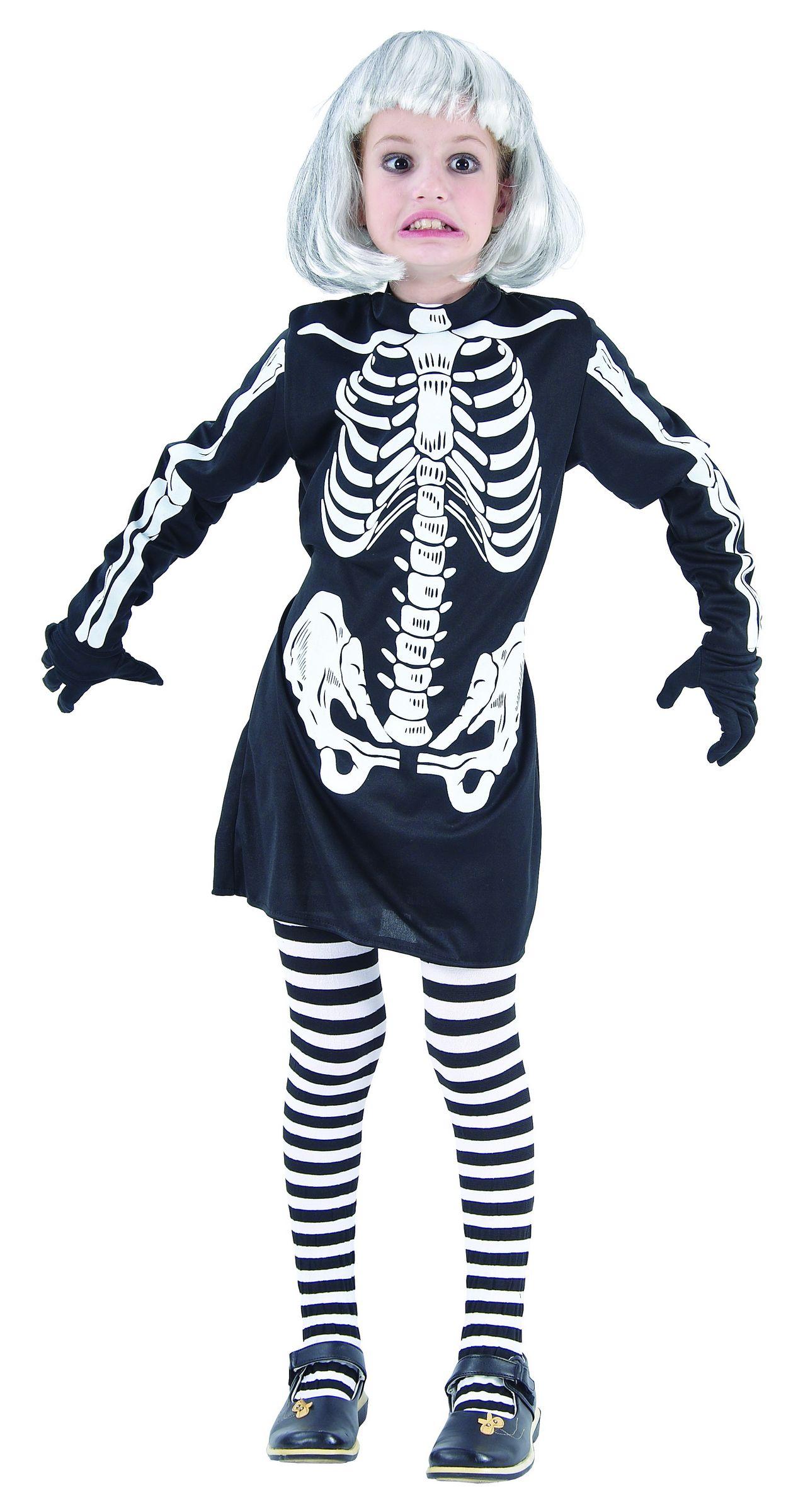 Déguisement squelette fille Halloween - e0d21fd14840
