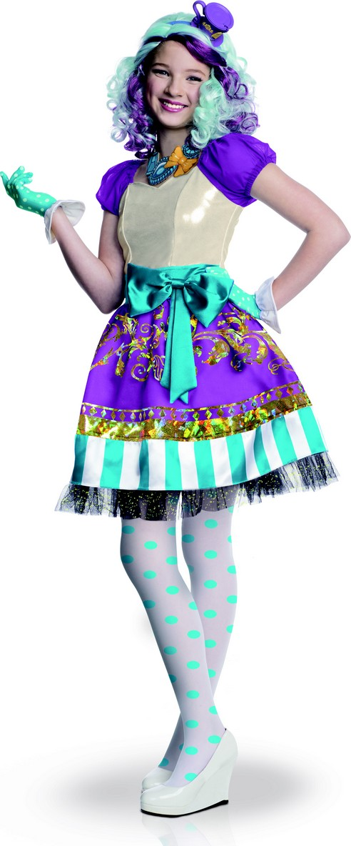 Déguisement Super Luxe Madeline Hatter Ever After High Fille