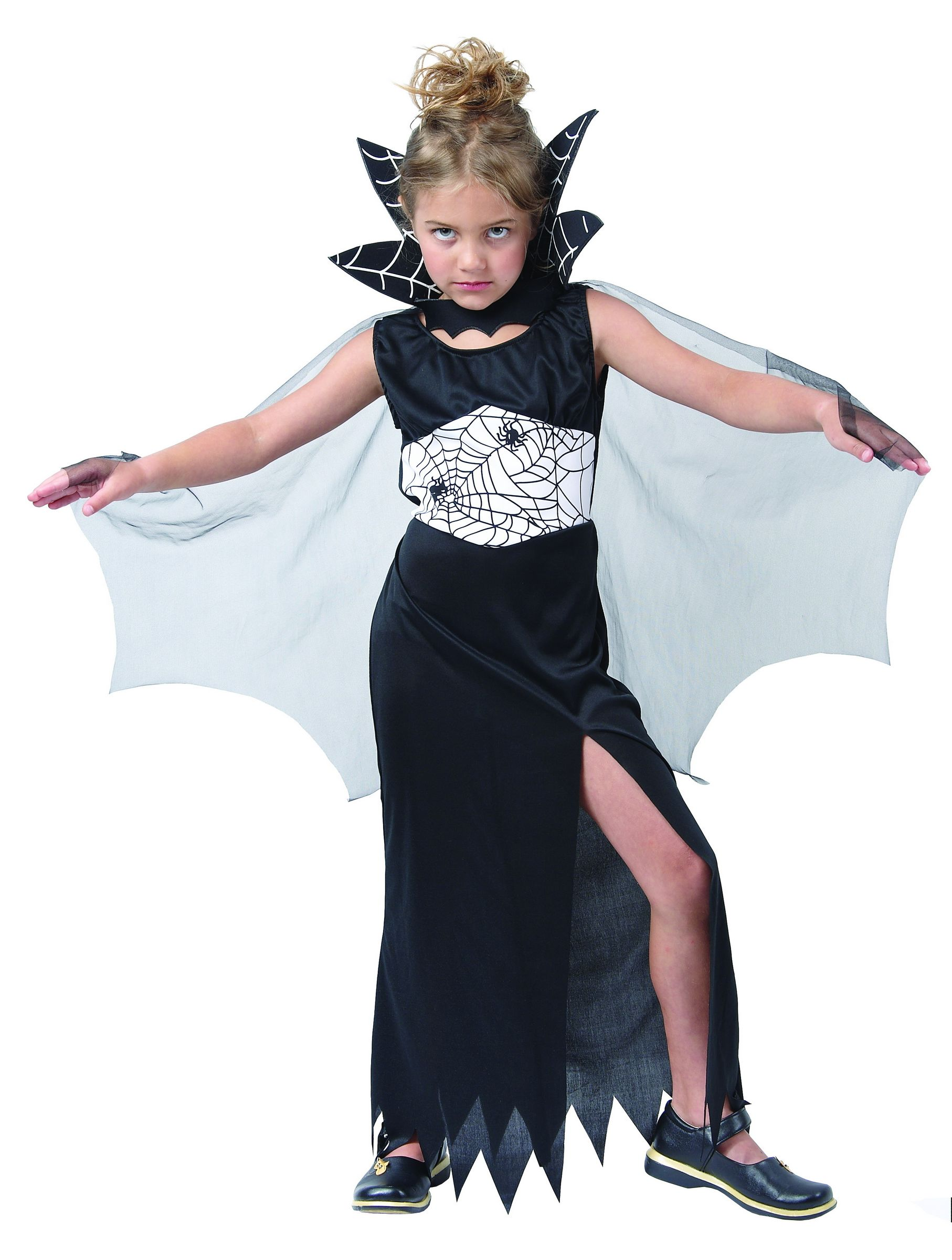D guisement sorci re araign e fille halloween - Deguisement halloween fille vampire ...